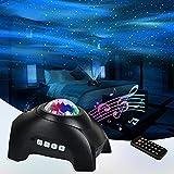 Northern Lights Aurora Projector, Star Projector Bluetooth Music...