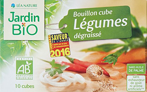 Jardin Bio Bouillon Cube Légumes Dégraissé 90 g