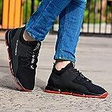 Shozie Men's Sports Shoes (Black, Numeric_8)