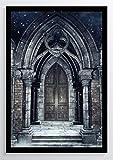 Gothic Art Tor Kunstdruck Poster -ungerahmt- Bild DIN A4 A3