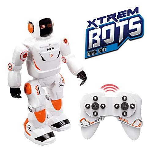 Xtrem Bots MAX BOT, Inteligencia Artificial, Robótica teledirigido, Educativo, Robot Inteligente, Radiocontrol, Juguetes para niños (1)