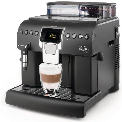 Philips HD8920/01 Kaffeevollautomat Royal Gran Crema (2.2 L, 350 grams, 1400 W), matt-schwarz