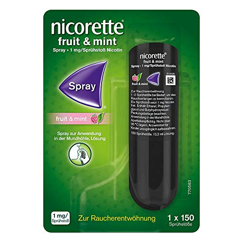 Nicorette Fruit & Mint 1mg/Sprühstoß Spray, 13.2 ml