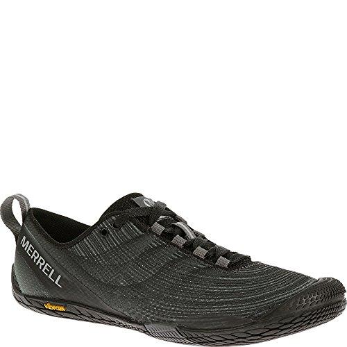 Merrell Women's Vapor Glove 2 Trail Running Shoe, Black/Castle Rock, 8.5 M US