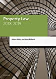 Abbey, R: Property Law 2018-2019 (Legal Practice Course Manuals)