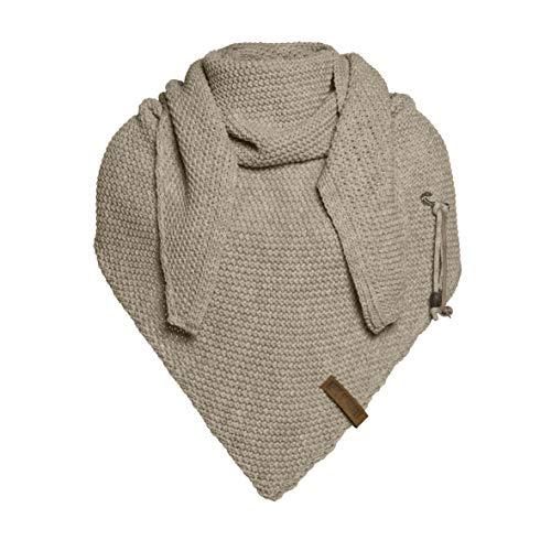 Basic.de Damen-Schal XXL Knit Factory Coco Oversize Strick, -Olive, Einheitsgröße