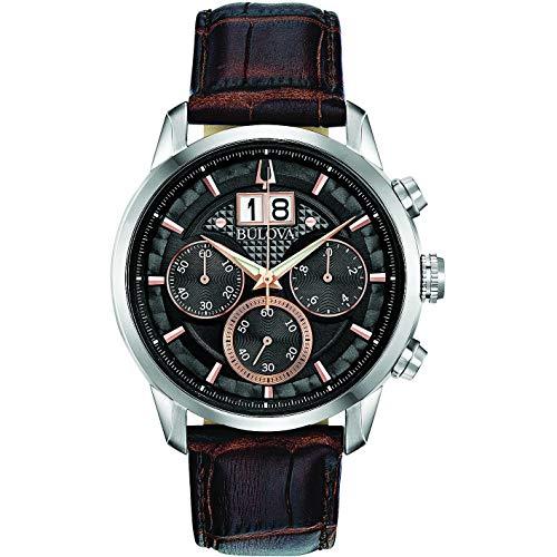 orologio multifunzione uomo Bulova Sutton elegante cod. 96B311
