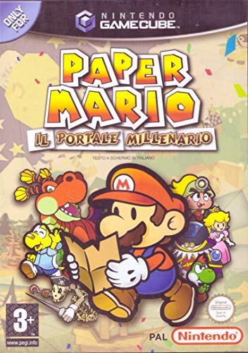 PAPER MARIO IL PORTALE MILLENARIO Nintendo Gamecube
