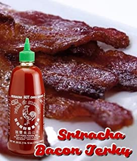 Sriracha Brown Sugar Bacon Jerky is a Delicious Mix of Salty, Sweet & Spicy