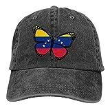 Bgejkos Mapa de la Bandera de Venezuela Algod/ón S/ándwich para Adultos Gorra de Pico Sombrero Deportivo Regalo QW344