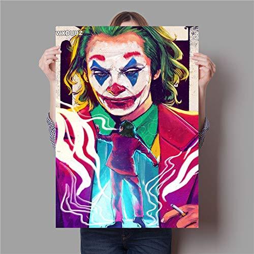 supmsds Kein Rahmen Parodie Joker Malerei Qualität Wohnkultur Kunst Dekor lebende Wandkunst Kinderzimmer Kinderzimmer Poster Leinwandmalerei 40x60cm