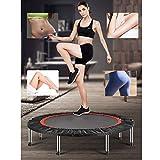 Fitness-Trampolin,leise Gummiseilfederung, Nutzergewicht bis 150kg, Trampolin für Jumping für...