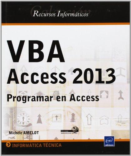 VBA Access 2013. Programar En Access