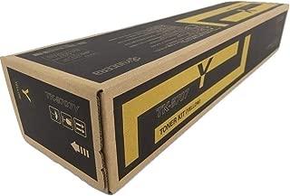 Kyocera 1T02K9AUS0 Model TK-8707Y Yellow Toner Cartridge For use with Kyocera TASKalfa 6550ci, 6551ci, 7550ci and 7551ci Color Multifunction Laser Printers