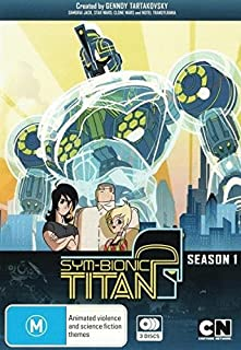Sym-Bionic Titan (Season 1) - 3-DVD Set ( Sym-Bionic Titan - Season One (20 Episodes) ) [ NON-USA FORMAT, PAL, Reg.4 Import - Australia ]