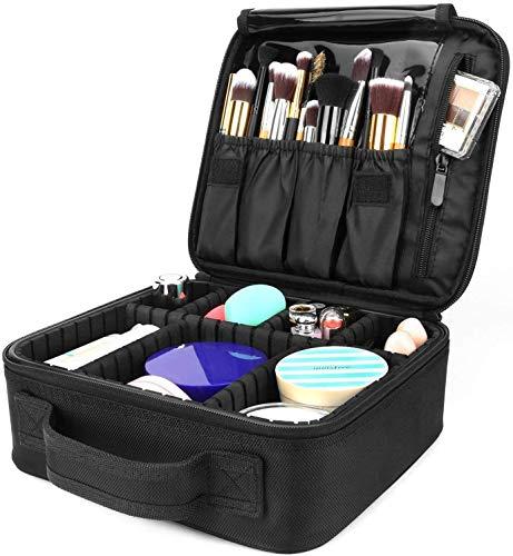 Detachable Travel Makeup Bag,Pulchram Waterproof Make Up Tool Brushes...