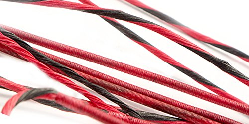 55' Replacement Compound Bow String BCY X (Red/Black)
