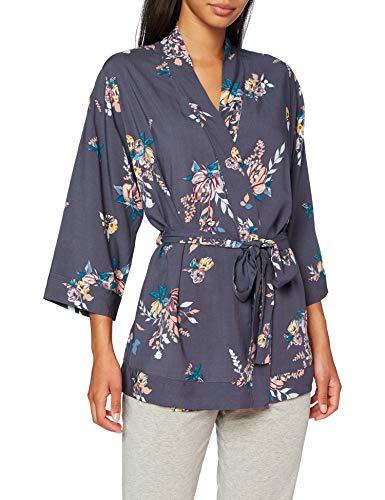 Triumph Robes Interior Jacket 01 Camiseta de Pijama, Gris, 44 para Mujer