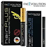 Facevolution Hairplus Wachstumsfluid 4,5 ml + Hairplus FACEVOLUTION Lash Mascara schwarz 6 ml