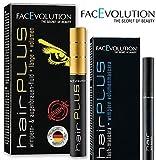 Facevolution Hairplus Wachstumsfluid 4,5 ml + Hairplus FACEVOLUTION Lash Mascara schwarz 6 ml