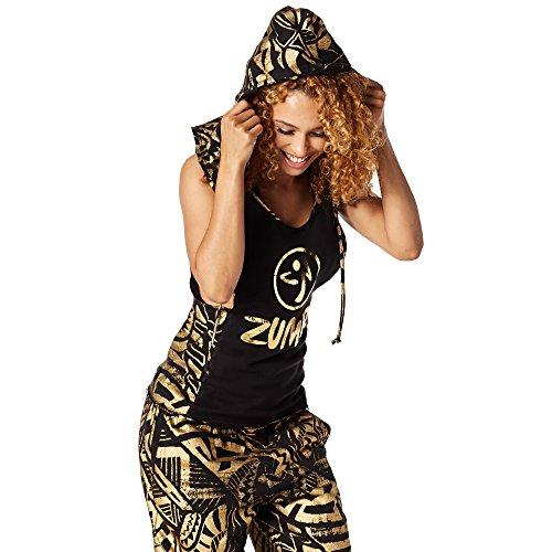 Zumba Fitness -, Otoño-Invierno, Mujer, Color Back to Black, tamaño Medium