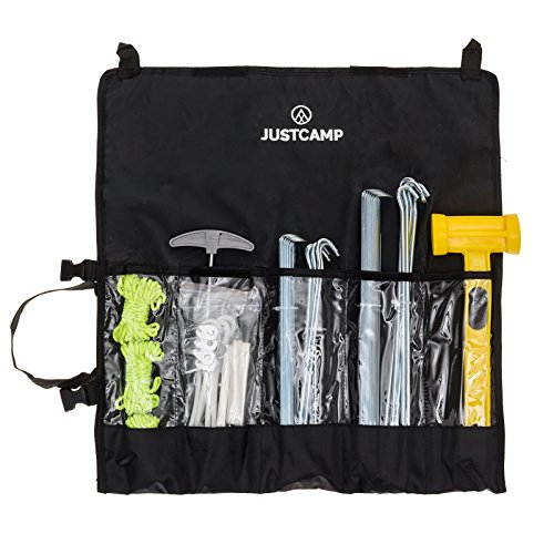 JUSTCAMP Griffin Set di Accessori per Tenda Campeggio