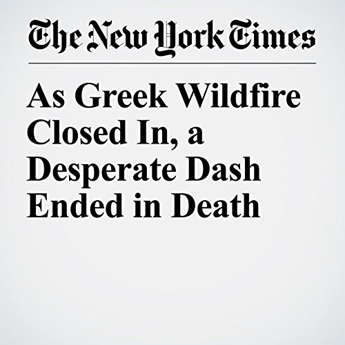 As Greek Wildfire Closed In, a Desperate Dash Ended in Death copertina