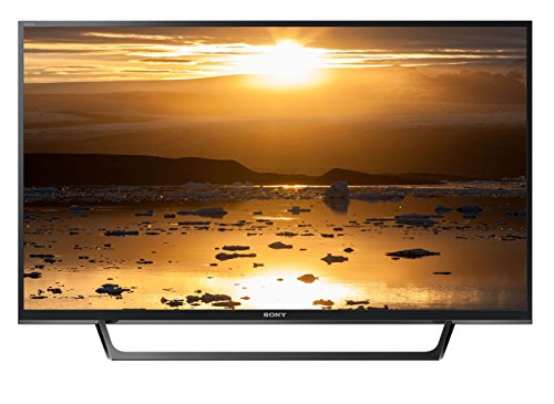 Sony KDL-40WE660 - Televisor 40' Full HD LED Smart TV (Motionflow XR 200 Hz, X-Reality Pro, Compatible con HDR, Wi-Fi), Negro