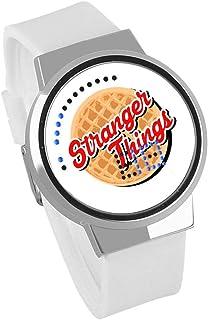 3dadb2e7c Anime Cosas Extrañas Reloj Táctil A Prueba De Agua Personalidad Creativa Led  Reloj Electrónico