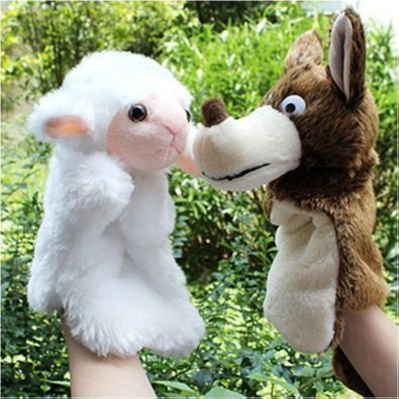 Angle Schaf und Wolf-Schafwolf Puppen