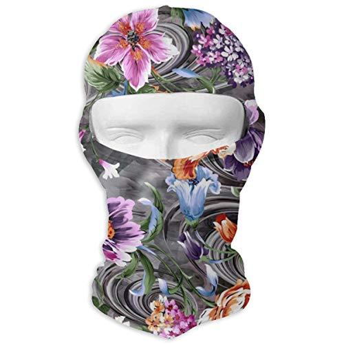 Sitear Bloem Met Digitale Stof Ontwerp Aangepaste Volledige Gezicht Masker Hood Nek Warm Voor Mannen En Vrouwen Outdoor Sport Windproof Zonnebrandcrème