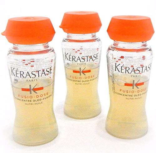 Kerastase Nutritive Oleo-Fusion 3 Dual Action Nutrition for Dry and Sensitized Hair, 3 vials