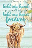 You Will Hold My Heart Forever: Appreciation Gift Journal for Parents | Family Love and Baby Yak (Appreciate Present Notebook)