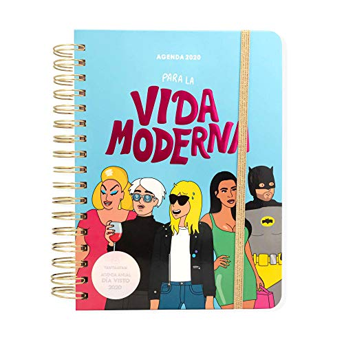 Agenda día/página 2020 Moderna de Pueblo (TANTANFAN)