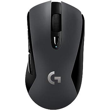 Logicool G ゲーミングマウス ワイヤレス G603 ブラック LIGHTSPEED 無線 Bluetooth 対応 ゲームマウス HEROセンサー G603 国内正規品 2年間メーカー保証