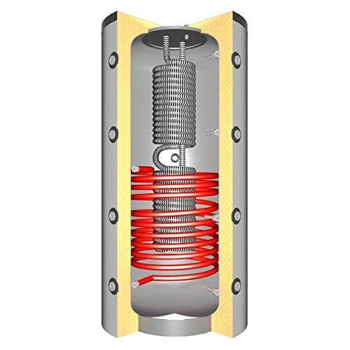 Schindler + Hofmann Speichertechnik J00083 Hygienespeicher 1000 L mit 1x Solarwärmetauscher/C