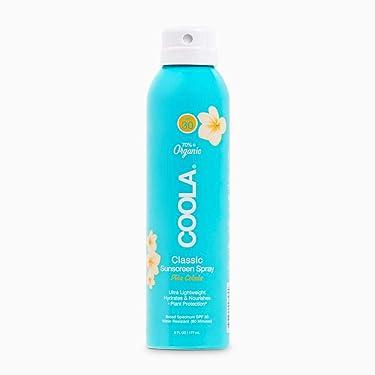 COOLA Organic Sunscreen Spray Broad Spectrum, Reef-Safe, Pina Colada