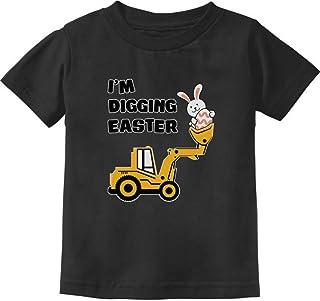 Camiseta infantil I'm Digging Easter Gift for Tractor Loving Boys