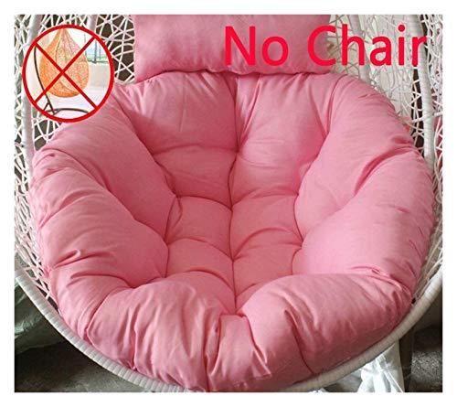 Cojín para silla de huevo DYYD para colgar en silla de huevo, hamaca gruesa para silla de jardín, playa, sofá y asiento (color: S)