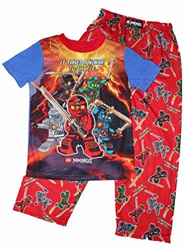 LEGO Ninjago Ninja Battle Boys Pajamas (8)