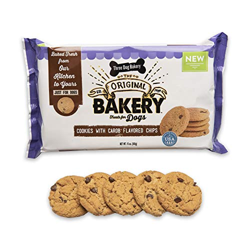 Three Dog Bakery Carob Chip Cookie