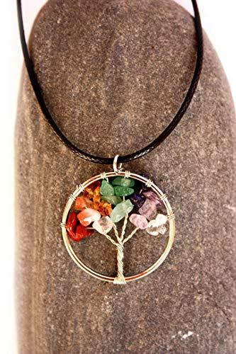 Colgante con el símbolo del árbol de la vida, Collar regalo espiritu