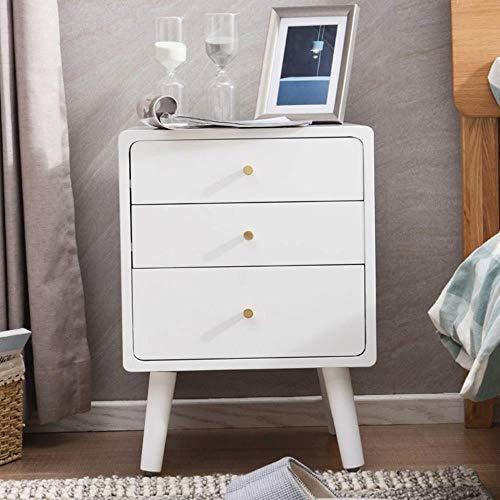 TXXM® Herstellung Massivholz Nachttisch Nacht Beistelltisch Form einfach und haltbar und praktisch Praktische Möbel (Color : C)
