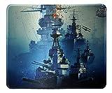 World of Warship Gaming Mouse Pad Battleship 12x10 inches Custom Mousepad Gaming mat