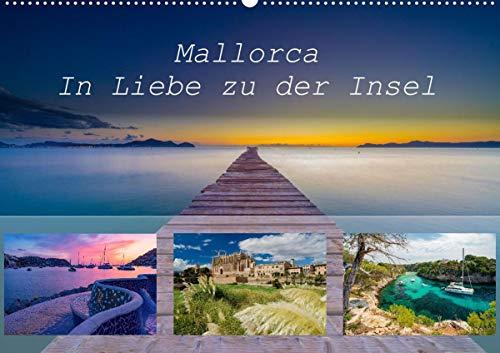 Mallorca - In Liebe zu der Insel (Wandkalender 2021 DIN A2 quer): Tolle Bilder der Insel Mallorca, Monat für Monat (Monatskalender, 14 Seiten )