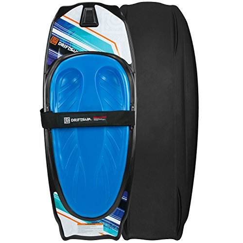 Driftsun Kneeboard with Hook for Kids and Adults, Includes Boating Strap and Hook, Knee-Board Water-Sports, 50-Inches x 20-Inches