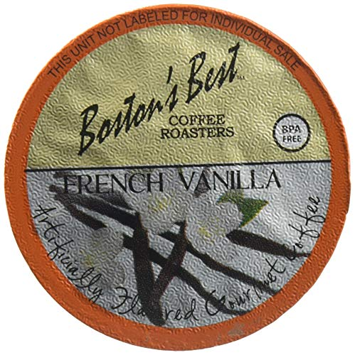Boston's Best Single Serve K-Cup Coffee, French Vanilla, 42 Count (Compatible with 2.0 Keurig Brewers)