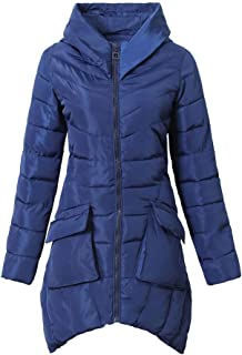 Autumn Winter New Women's Warm Long Down Jacket Plus Size Pocket Cotton Coat Jacket