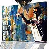 DotComCanvas® XXL Motivation-Wandbild für Erfolg |