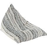 ZHEYANG Sillones 120x90x100cm Lazy Couch algodón de Lino Sofá Moderno Minimalista Inicio Ocio Sofá Silla Individual Mini Tatami extraíble Bean Bag
